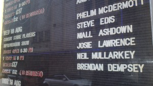 The Comedy Store Players Line Up for Wednesday 18th August 2010