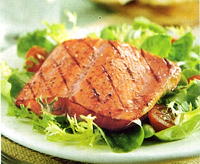 Salmon salad - easy way to serve salmon