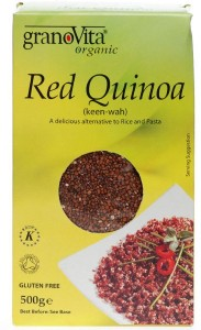 Inca red quinoa - same pack that I have