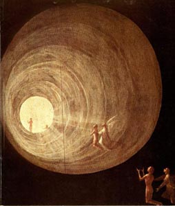A trip into the afterlife? The Ascent into the Empyrean - Hieronymous Bosch - 1450-1516