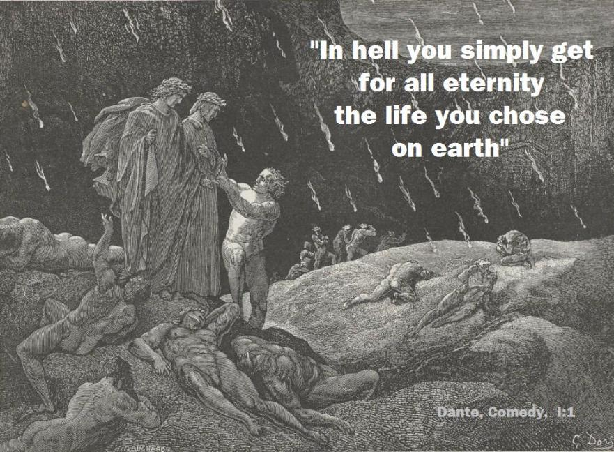 Hell: an eternity of suffering and suicide?