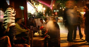 Shisha cafes in London's Edgware Road