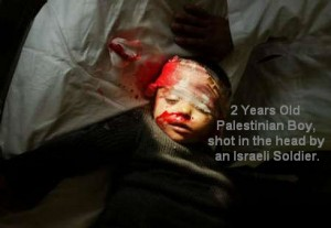 Some Israeli soldiers deliberately kill babies