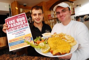 Our parmo's mint!