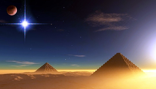 Loan For Bad Credit >> The Dog Star Sirius over the pyramids of Egypt
