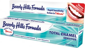Beverly Hills Formula Total Enamel Sensitive Toothpaste 125ml / 170g
