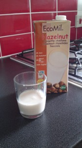 Hazelnut milk - LOVE IT!!!!