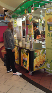 The Magic Corn stand at The Mall in Ilford