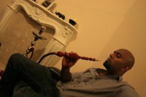 Me smoking my shisha