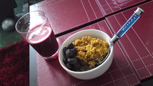 Red lentils,, wholegrain basmat rice, black olives and vegetable juice